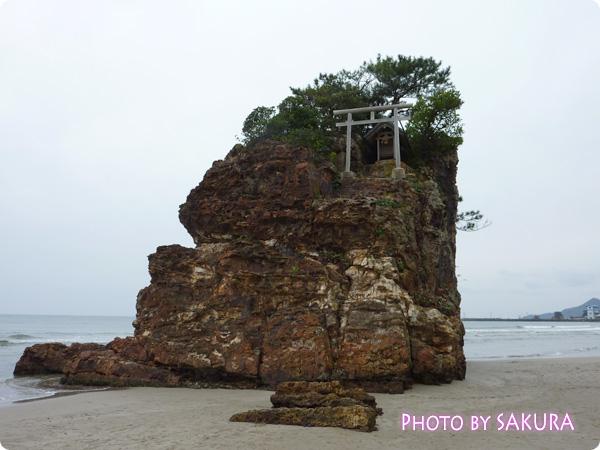 稲佐の浜(いなさのはま) 弁天島2
