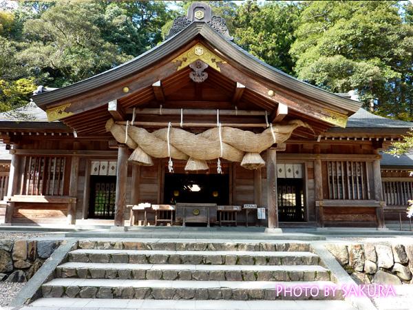 熊野大社 拝殿